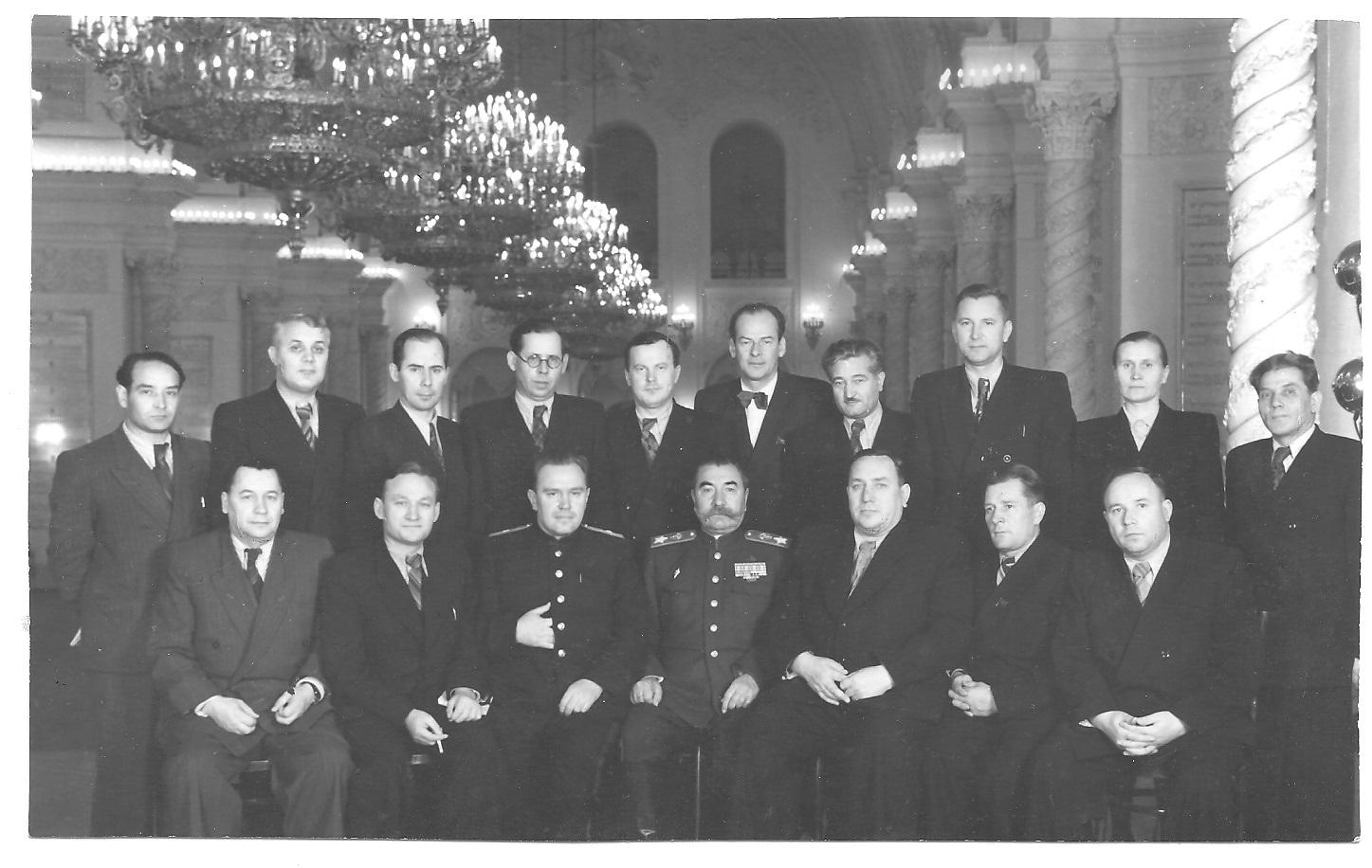 Ленинградская делегация 19 съезд партии